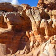 Martian Cliffs Art Print