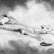 Martin B-57 Intruder  Art Print