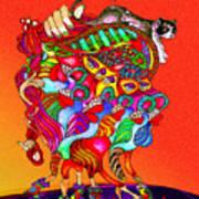 Martin-hardy-dinaminx-10 Art Print