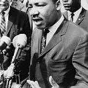 Martin Luther King, Jr. 1929-1968 Art Print by Everett