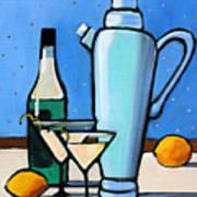 Martini Night Art Print