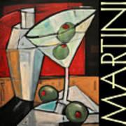 Martini Poster Art Print