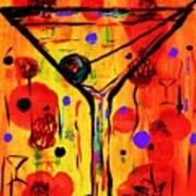 Martini Twentyfive Of Sidzart Pop Art Collection Art Print