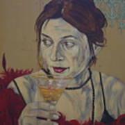 Martini Women Art Print