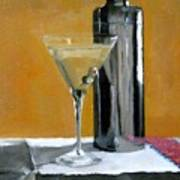 Martini3 Art Print