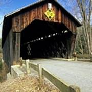 Martinsville Covered Bridge- Hartland Vermont Usa Art Print