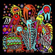 Maruvian Bird Gallery Art Print