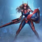Marvel Future Fight Art Print