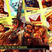 Marvel Zombies Art Print
