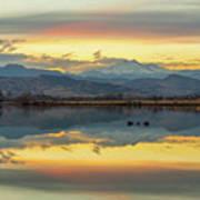 Marvelous Mccall Lake Reflections Art Print