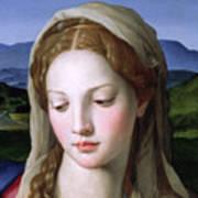 Mary Art Print by Agnolo Bronzino