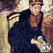 Mary Cassatt (1845-1926) Art Print by Granger