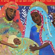 Mary Habe Boy Chile Art Print