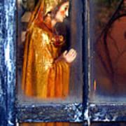 Mary In Prayer Art Print