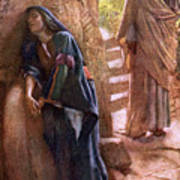 Mary Magdalene At The Sepulchre Art Print