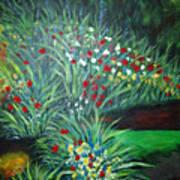 Maryann's Garden 3 Art Print