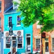 Maryland - Neighborhood Pub Fells Point Md Art Print