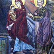 Mary's Well Art Print
