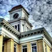 Maryville Tennessee Courthouse 3 Art Print