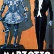 Marzotto - Italian Textile Company - Vintage Advertising Poster Art Print
