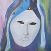 Maschera Veneziana Art Print