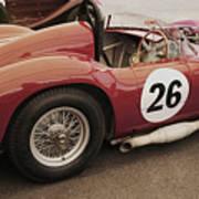 Maserati 450 S Art Print