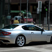 Maserati Granturismo S Art Print