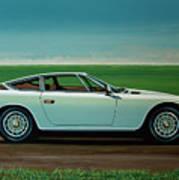 Maserati Khamsin 1974 Painting Art Print
