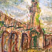 Masjed II Art Print by Khalid Alzayani