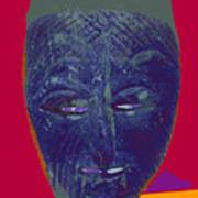 Mask 10 Art Print