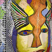 Mask 13 Art Print