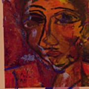 Mask 14 Art Print