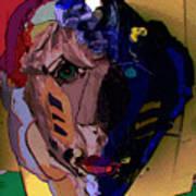 Mask 17 Art Print