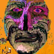 Mask 7 Art Print