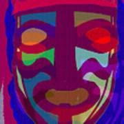 Mask8 Art Print