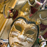 Masks For Sale - Venice, Italy Art Print