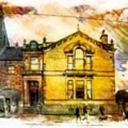 Masonic Lodge 2 Art Print