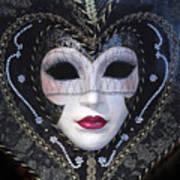 Masque Art Print