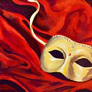 Masquerade 2 Art Print