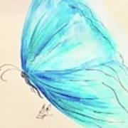 Masquerade Butterfly  Art Print