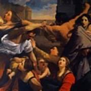 Massacre Of The Innocents 1611 Art Print