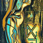 Massai Art Print