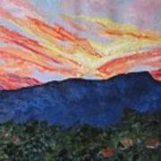 Massanutten Peak Sunrise Art Print