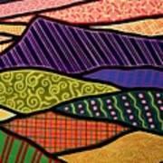 Massanutten Sunset Art Print