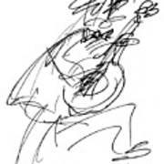 Master Guitarist Art Print