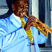 Master Of Jazz Art Print