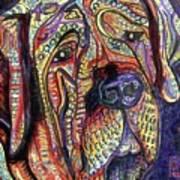 Mastiff Art Print by Robert Wolverton Jr