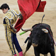 Matador Miguel Angel Perera IIi Art Print