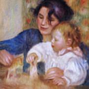 Maternal Love Art Print