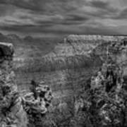 Mather Point B/w Art Print